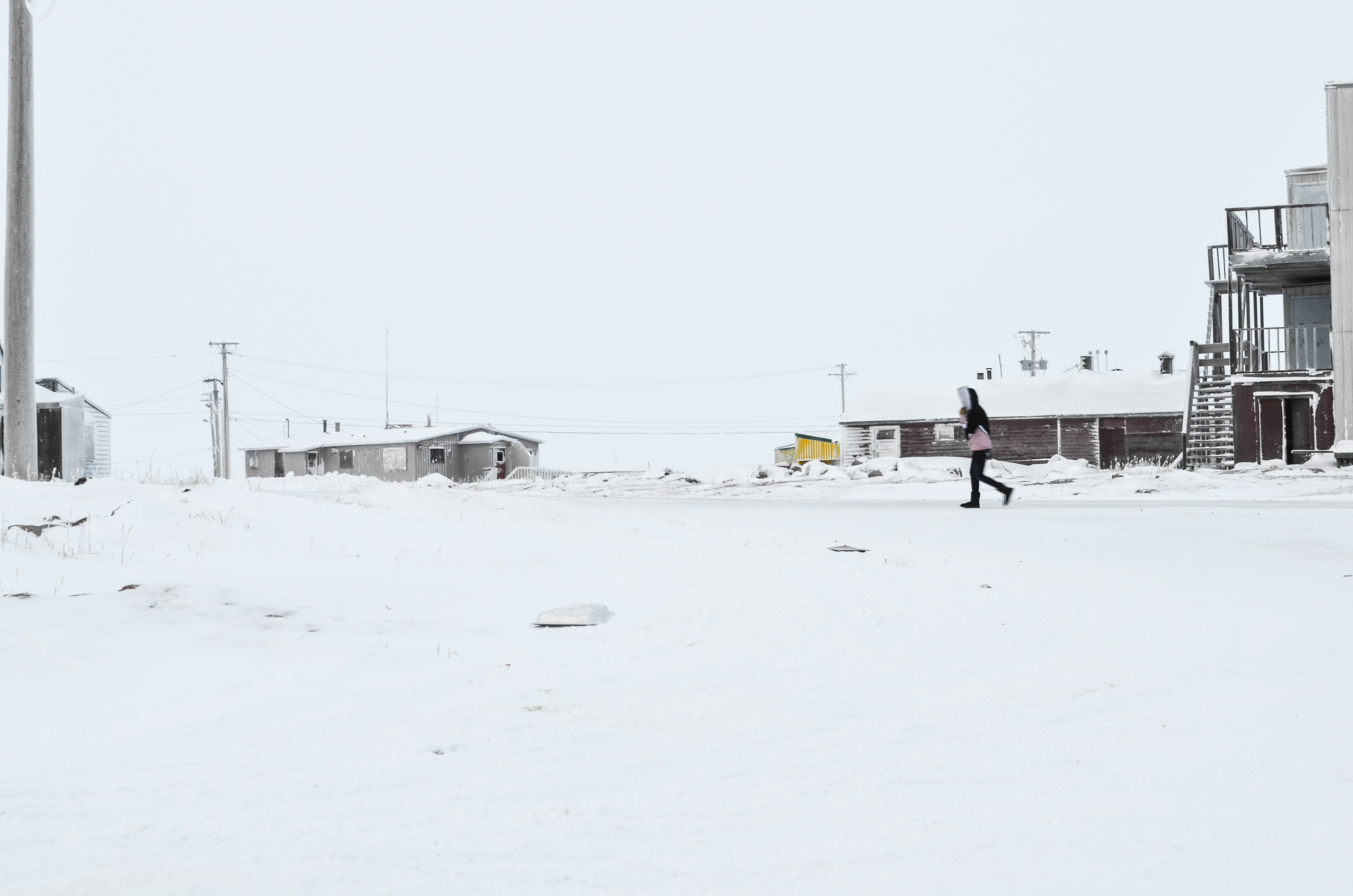 Winter in Chesterfield Inlet