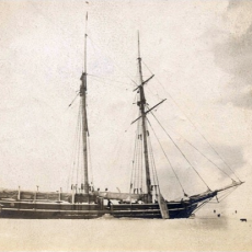 The wreck of the 'Finback'